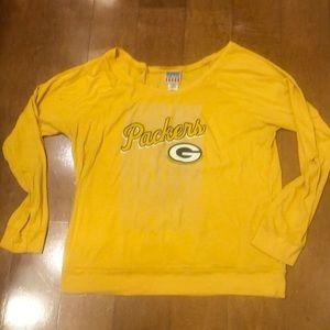 Junk Food Green Bay Packers long sleeve T-shirt